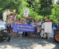Southern Oregon Birth Connections at Ashland's Fourth of July Parade