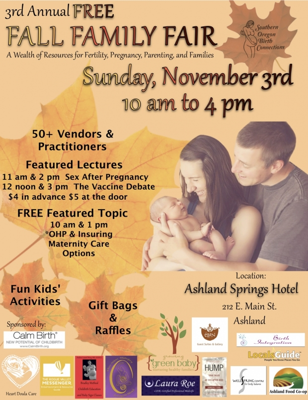 Sponsor our Fall Family Fair