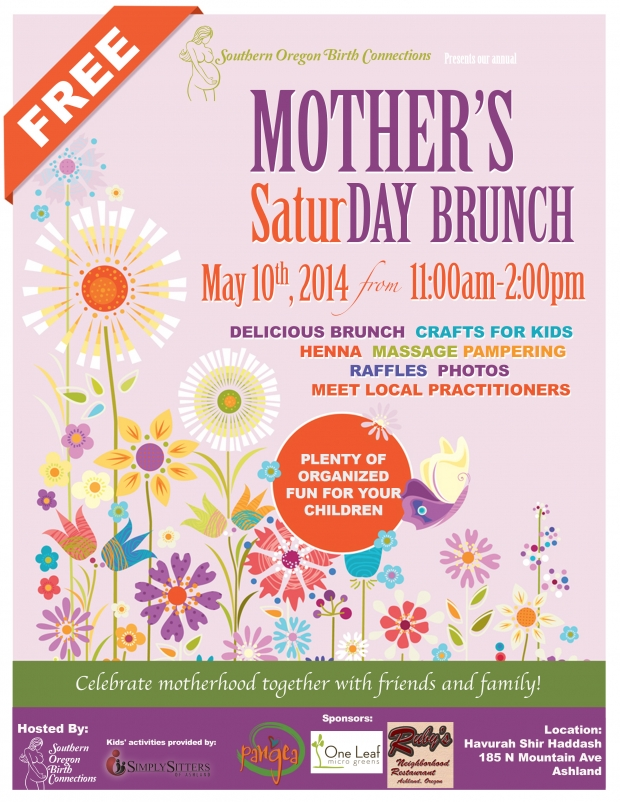2014 Mother's SaturDAY Brunch: May 10th