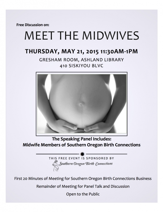 Regular Thursday Meeting: MEET THE MIDWIVES